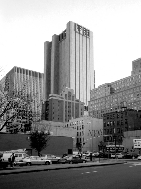 John Carl Warnecke, AT&T Long Lines Building, Manhattan, 2006. Photo Kazys Varnelis