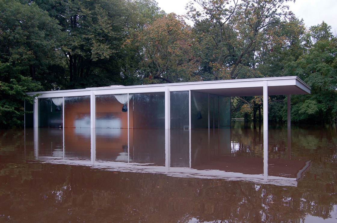 C8 leaking farnsworth house