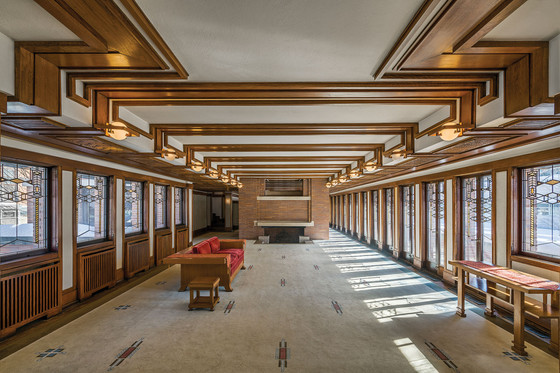 Frank Lloyd Wright, Robie House, Chicago, 1909.