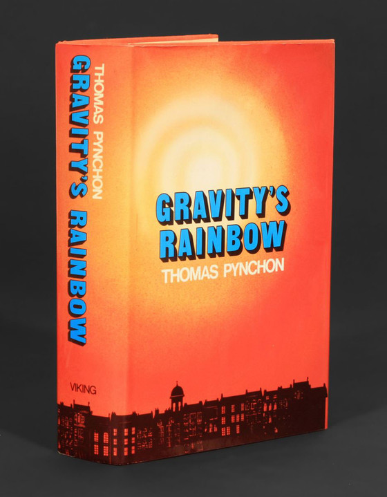 The book that screamed. Thomas Pynchon's Gravity's Rainbow. First published by Viking Press in 1973.