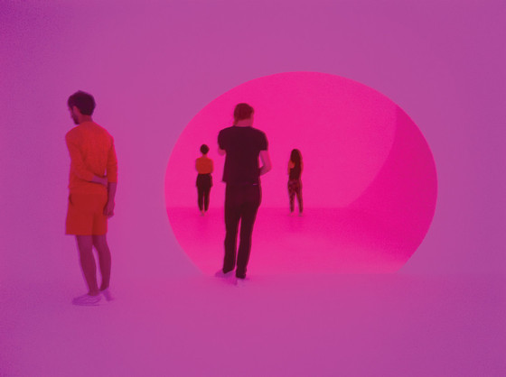 James Turrell, Akhob (2013), installation, Louis Vuitton City Center, Las Vegas, Nevada, 2014.