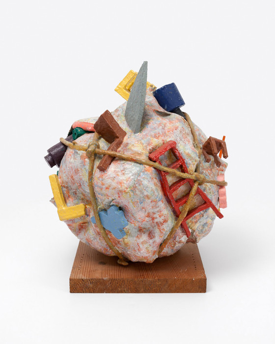 Claes Oldenburg and Coosje van Bruggen, Houseball, Naoshima—Presentation Model, 1992.