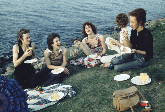 Nan Goldin, Picnic on the Esplanade, 1973.