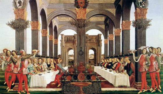 Sandro Botticelli, The Wedding Feast, 1483.