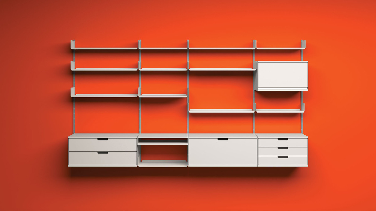 Full screen 43 mattern 606 universal shelving system by dieter rams for vitsoe  id8761 vitsoe