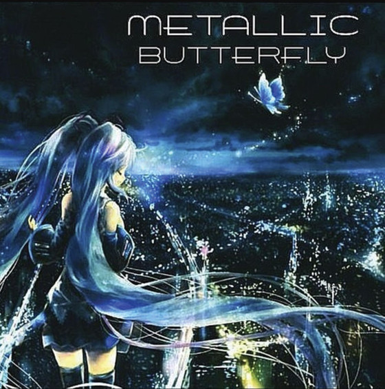 Cover of Metallic Butterfly, 2014.
