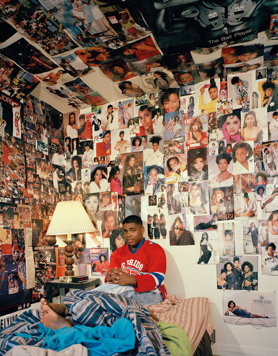 Adrienne Salinger, Fred H., from the series In My Room: Teenagers in Their Bedrooms, 1995.