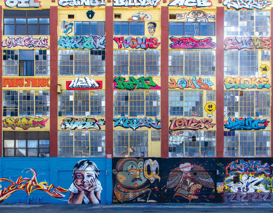 5Pointz, Long Island City, New York, 2011.