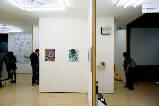 Material Art Fair, Mexico City, Mexico, 2016.