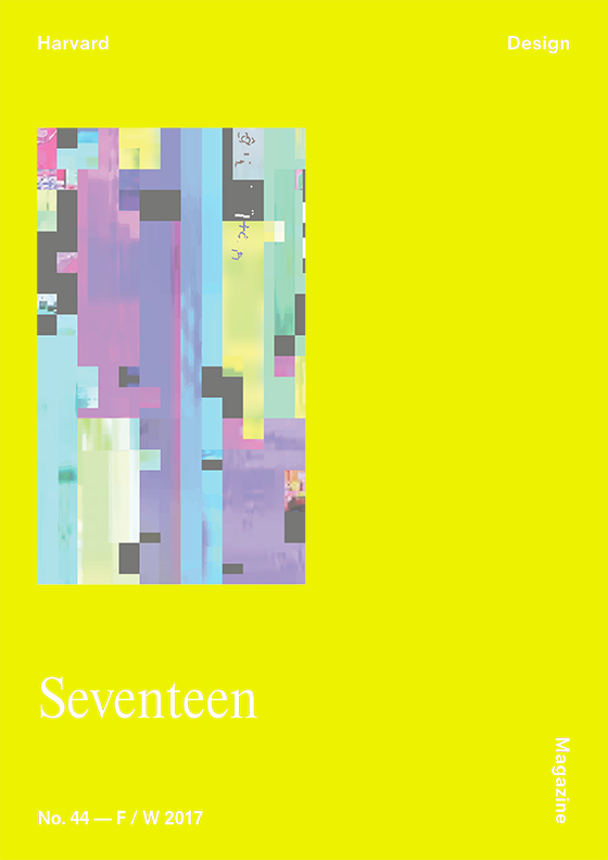 Harvard Design Magazine Issue No. 1 Created with Snap