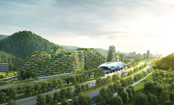 Stefano Boeri Architetti, Liuzhou Forest City, China, 2016–2020.