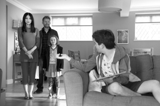 Promotional scene from the first episode of the series Humans, 2015.