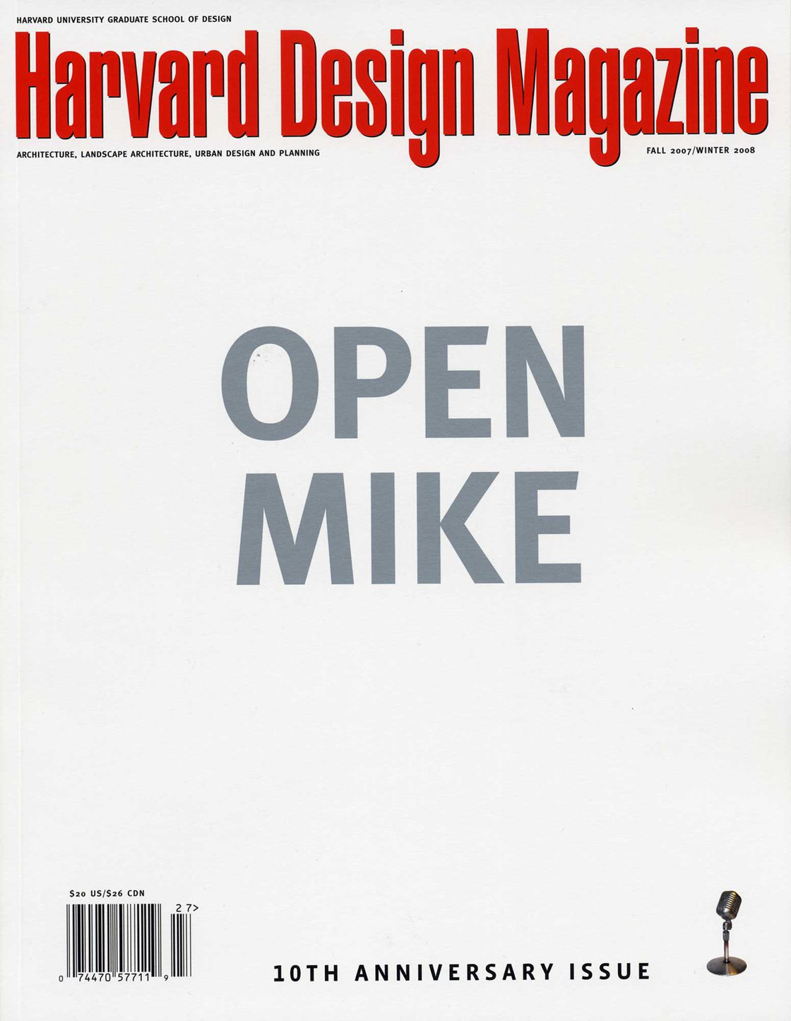 No. 27, F/W 2007 Open Mike