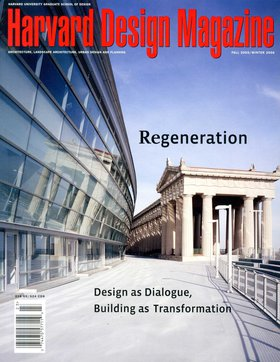 No. 23, F/W 2005 Regeneration: Design as Dialogue, Building as Transformation
