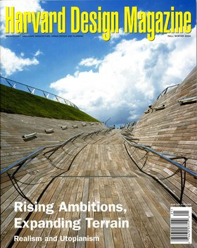 No. 21, F/W 2004 Rising Ambitions, Expanding Terrain: Realism and Utopianism