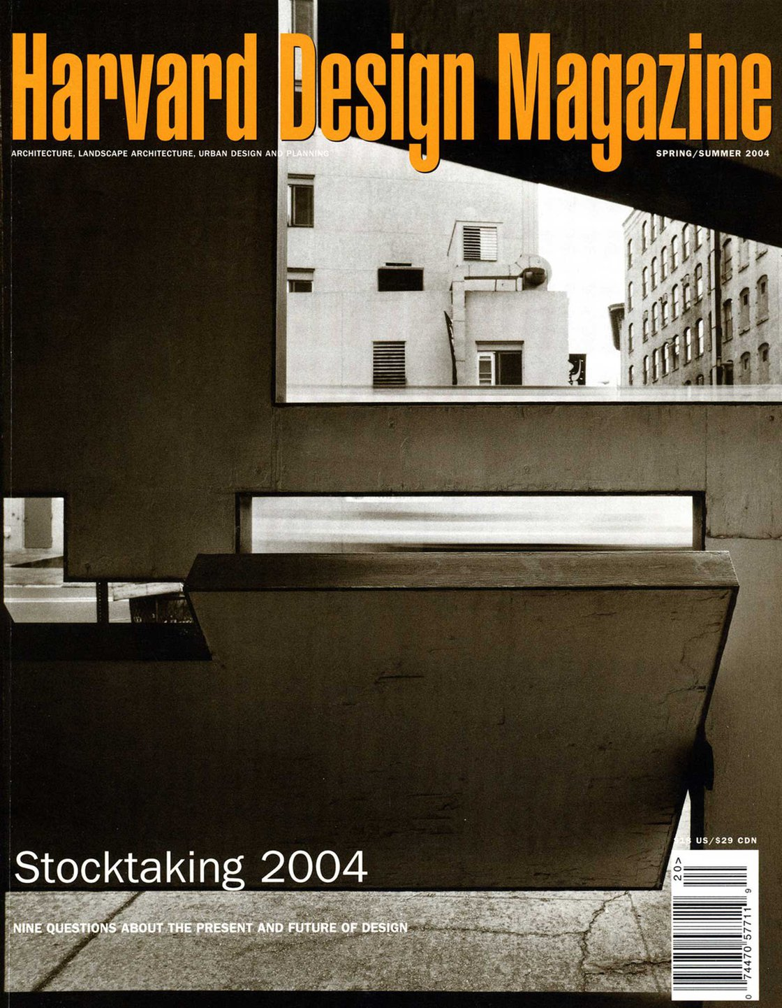 No. 20, S/S 2004 Stocktaking 2004: Nine Questions about the Present and Future of Design