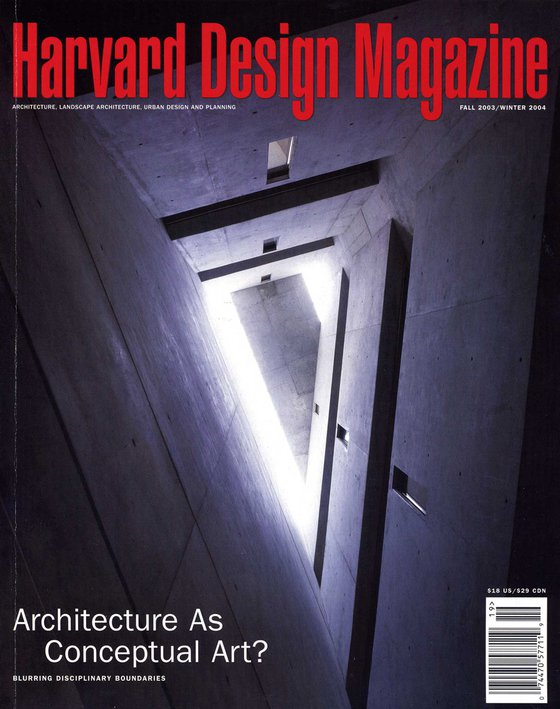 No. 19, F/W 2003 Architecture as Conceptual Art? Blurring Disciplinary Boundaries