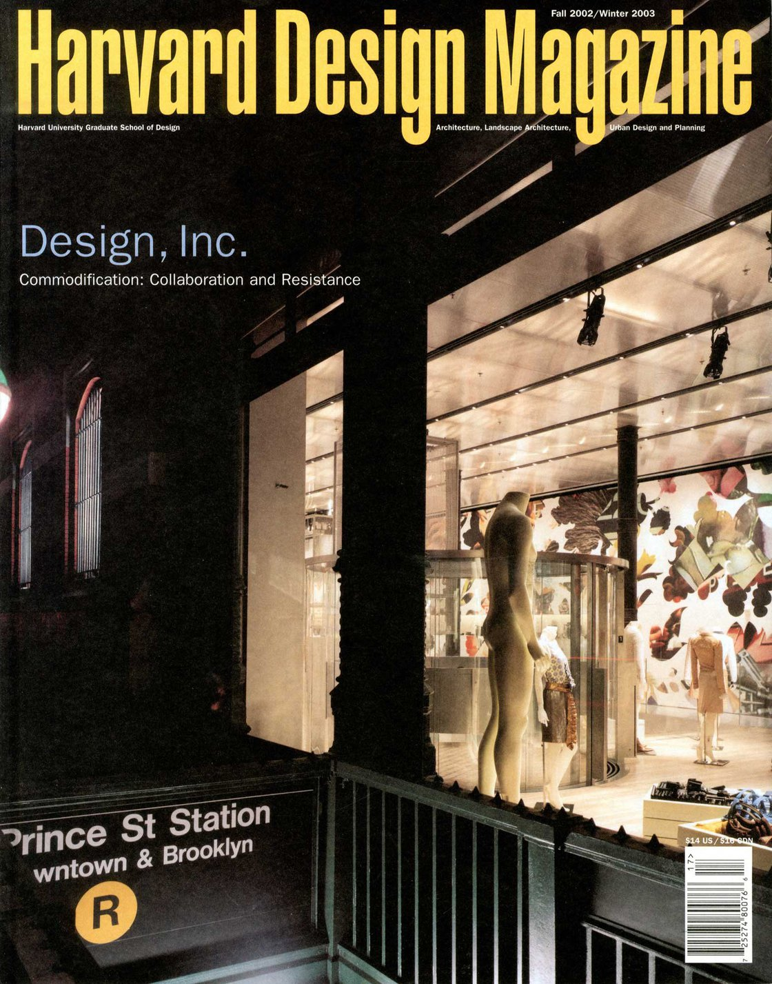 No. 17, F/W 2002 Design, Inc. Commodification: Collaboration and Resistance