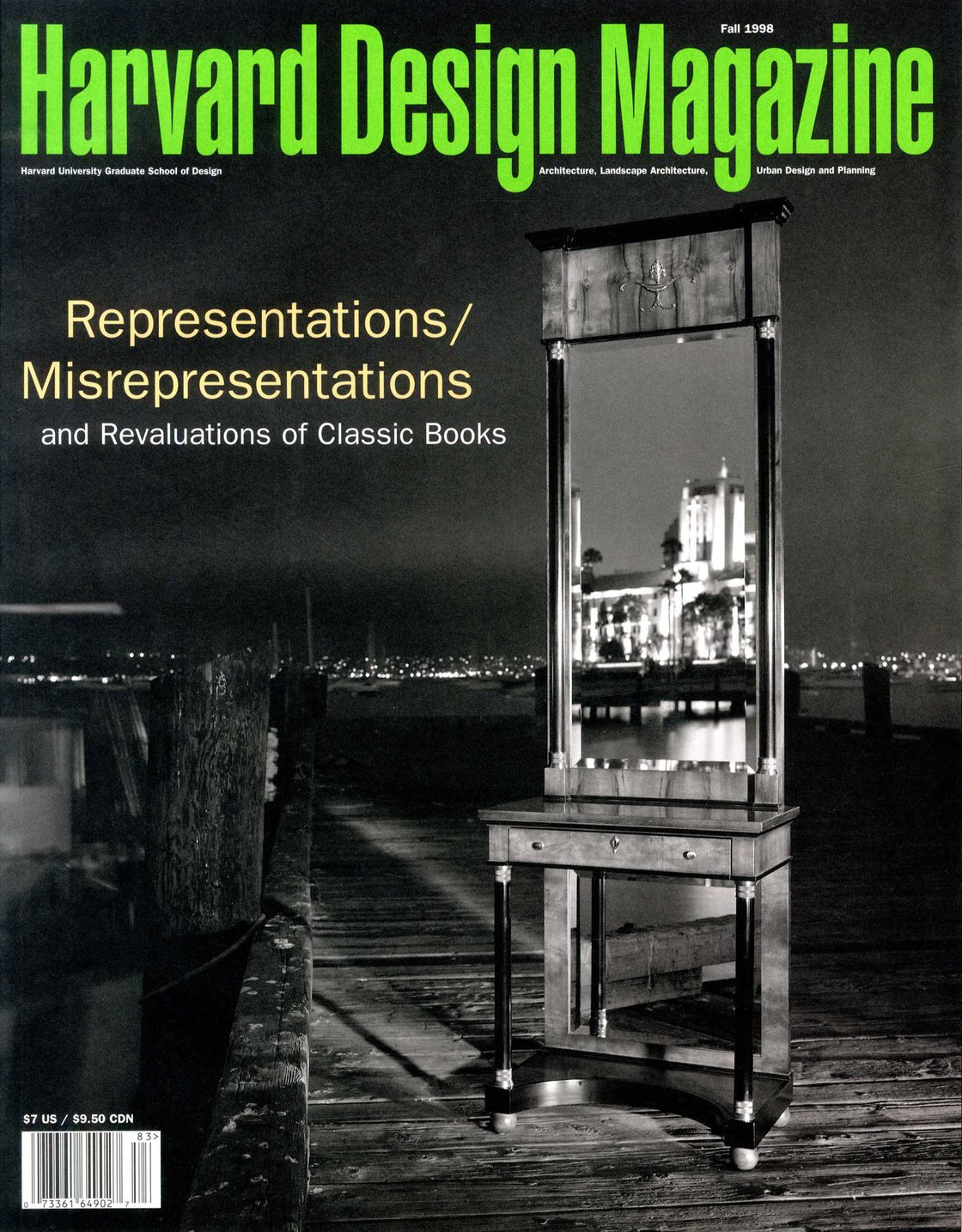No. 6, Fall 1998 Representations/Misrepresentations and Revaluations of Classic Books