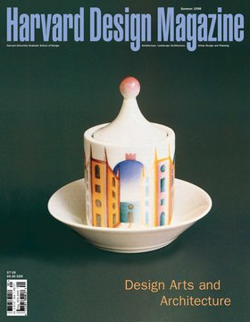 No. 5, Summer 1998 Design Arts and Architecture
