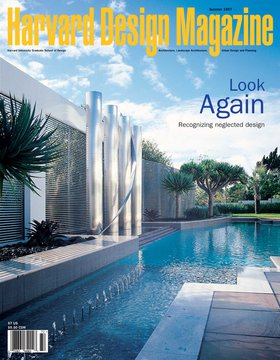 No. 2, Summer 1997 Look Again: Recognizing Neglected Design
