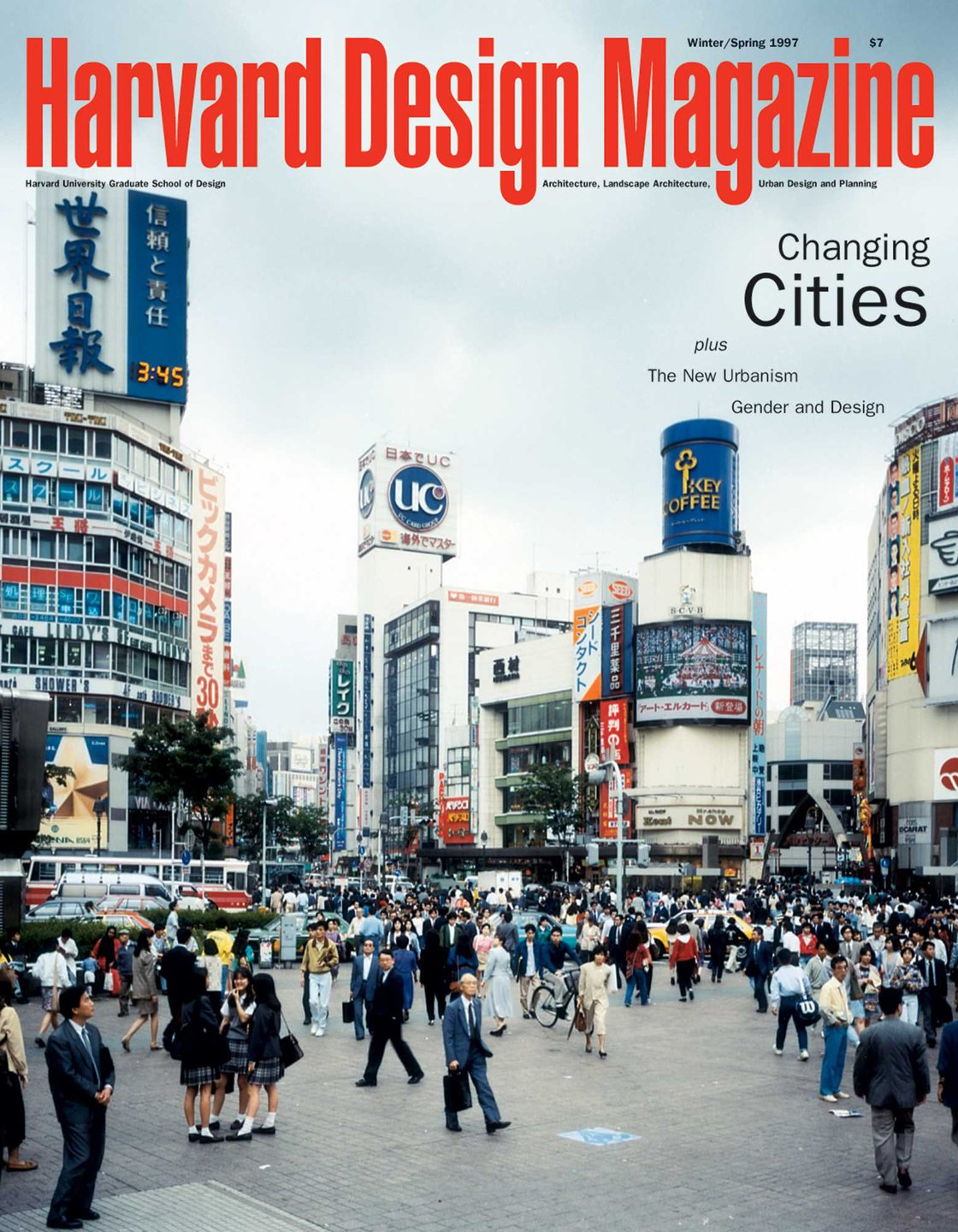 Harvard Design Magazine No 1 Changing Cities Plus The New