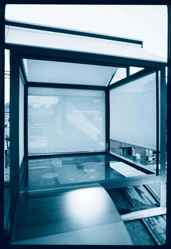 Tadao Ando: Teahouse, Oyodo, 1988, demolished in