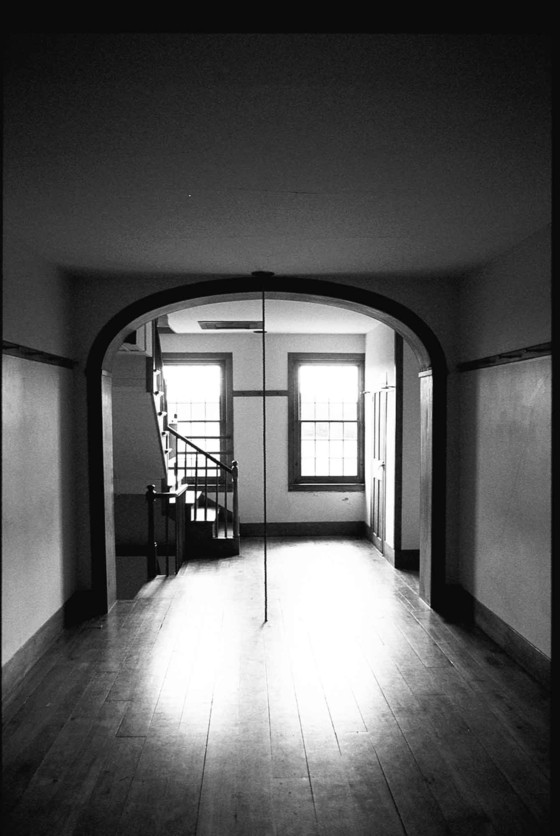 Shaker dormitory, New Lebanon, New York: an invisible line separated the men's from the women's side. Photo: Mark Mulligan.