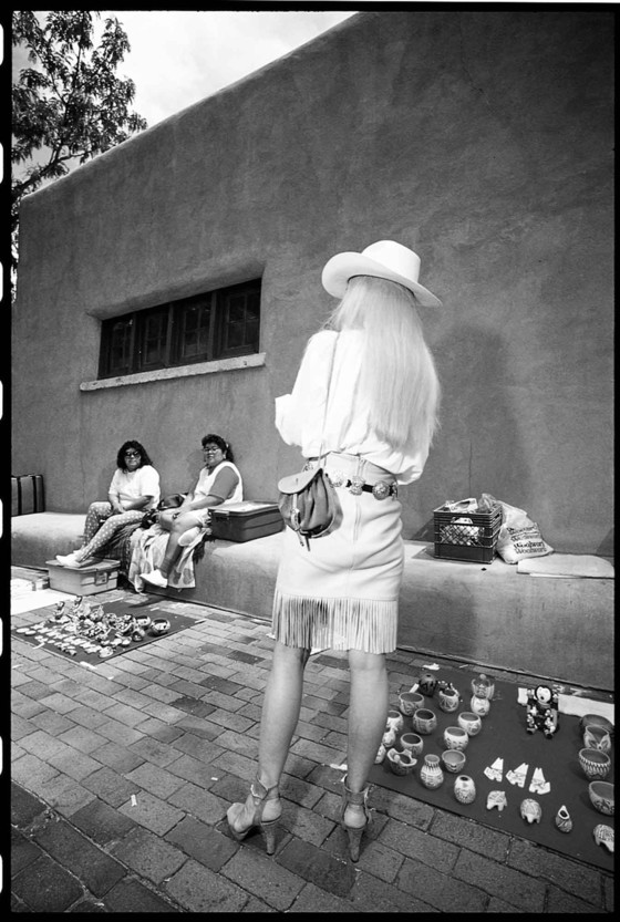 Sante Fe, 1996. Photo, Chip Simmons